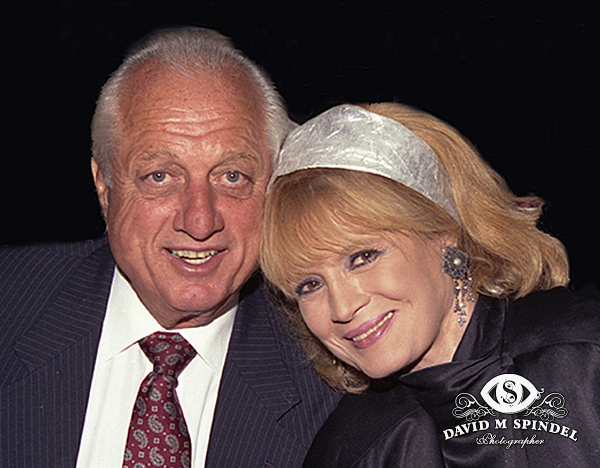 Angie Dickinson & Tommy Lasorda